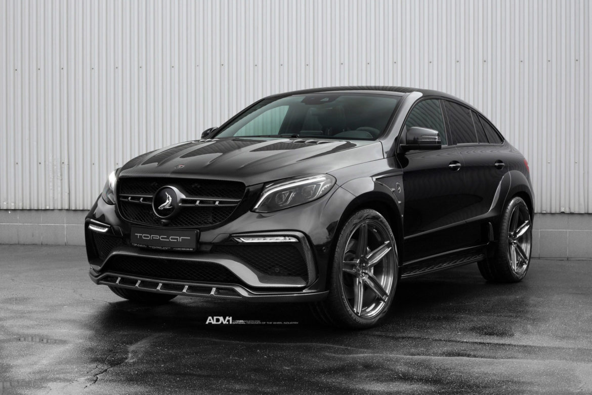 TOPCAR Mercedes GLE63 AMG - ADV5 M.V1 CS Series Wheels - Wallpaper